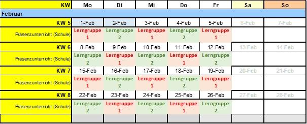 Lerngruppen Februar2